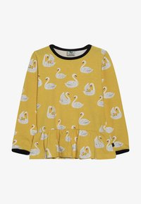 Småfolk - WITH SWANS - Longsleeve - ochre - 2