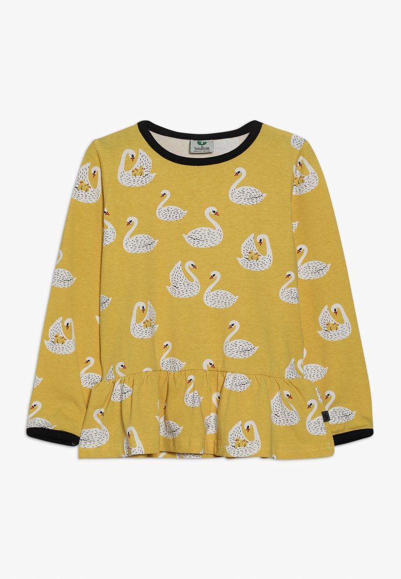 Småfolk - WITH SWANS - Longsleeve - ochre
