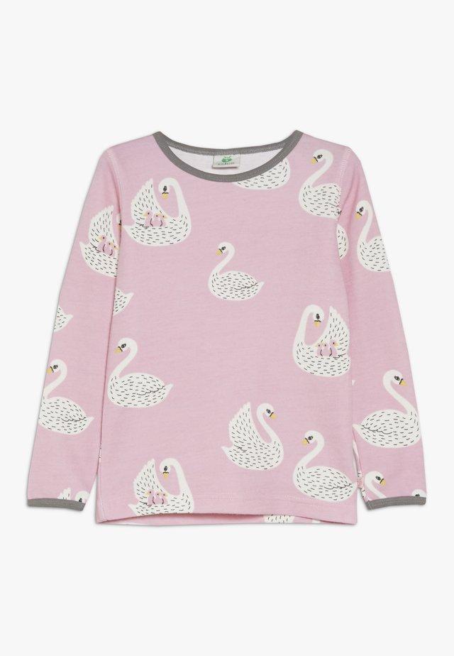 SWANS - Longsleeve - winter pink