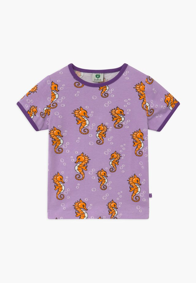 SEAHORSE - Print T-shirt - viola