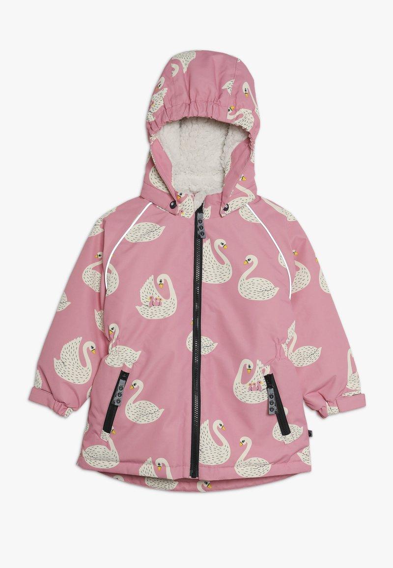 Småfolk - JACKET FOR GIRL WITH SWAN - Winter coat - pink