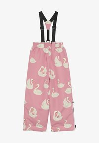 Småfolk - WINTER PANTS WITH SWAN - Skibukser - winter pink - 4