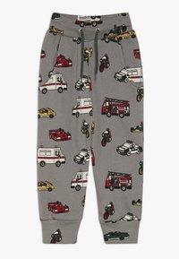Småfolk - PANTS WITH CARS - Pantalon de survêtement - wilde dove - 0