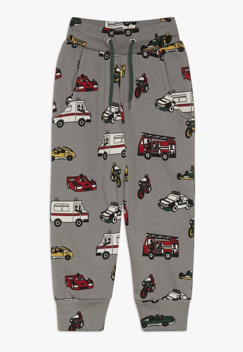 Småfolk - PANTS WITH CARS - Pantalon de survêtement - wilde dove