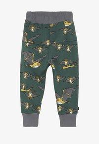 Småfolk - PANTS WITH BAT - Tracksuit bottoms - hunter green - 2