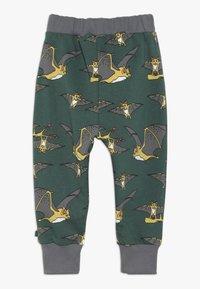 Småfolk - PANTS WITH BAT - Tracksuit bottoms - hunter green - 1