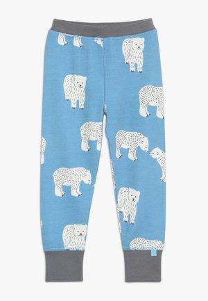 BABY PANTS WITH POLAR BEAR - Pantalones - winter blue