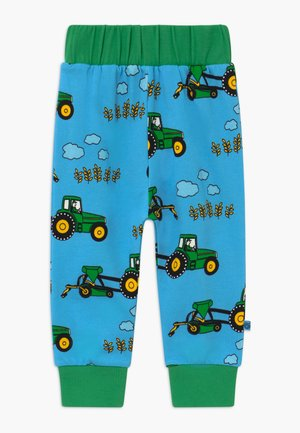 TRACTOR - Kalhoty - blue grotto