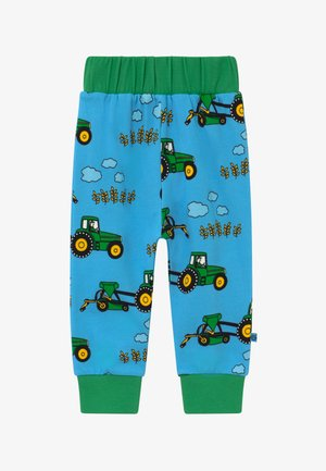 TRACTOR - Trousers - blue grotto