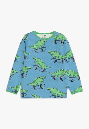 WITH CROCO - Long sleeved top - sky blue