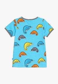 Småfolk - CHAMELEON - T-shirt print - blue atoll - 1