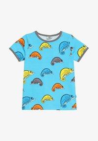 Småfolk - CHAMELEON - T-shirt print - blue atoll - 2