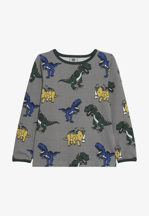 WITH DINOSAUR - Long sleeved top - wilde dove