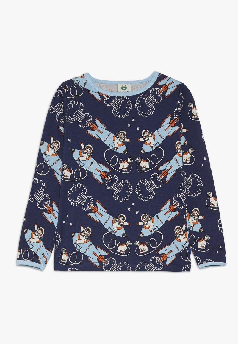 Småfolk - ROCKET - Long sleeved top - medieval blue