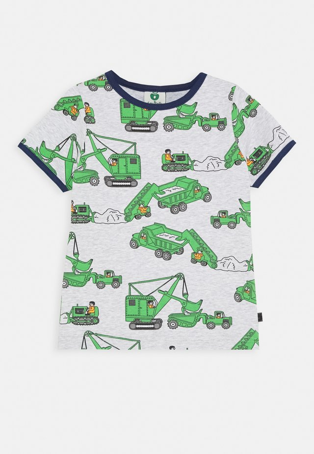 MACHINES - Print T-shirt - light grey