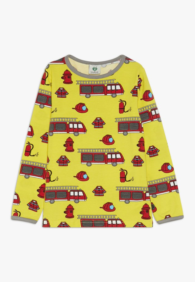 FIRETRUCK - Long sleeved top - yellow