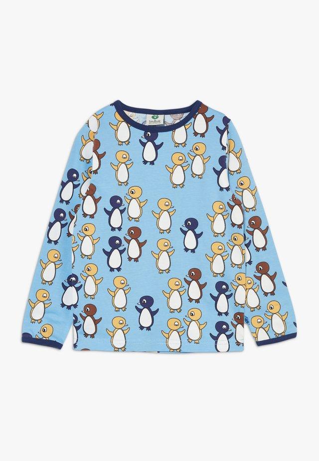 BABY PENGUIN - Top sdlouhým rukávem - sky blue