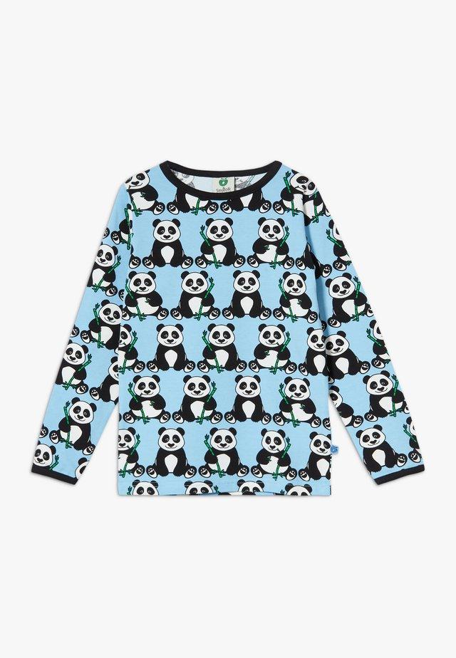 PANDA - Top sdlouhým rukávem - air blue