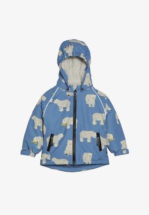 JACKET FOR BOY WITH POLAR BEAR - Zimní bunda - winter blue