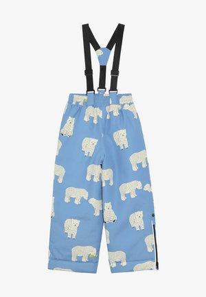 PANTS WITH POLAR BEAR - Snow pants - winter blue