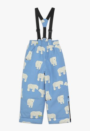 PANTS WITH POLAR BEAR - Pantalón de nieve - winter blue