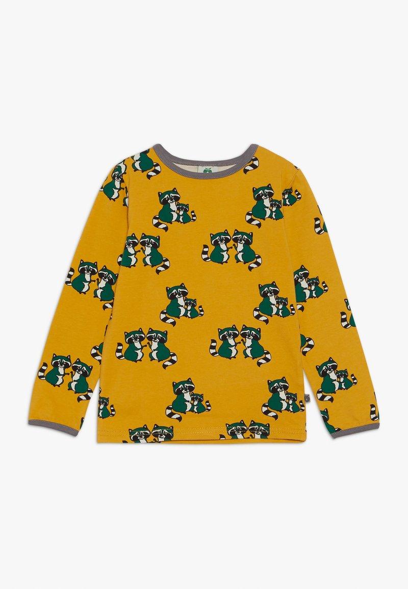 Småfolk - WITH RACCON - Langærmede T-shirts - ochre