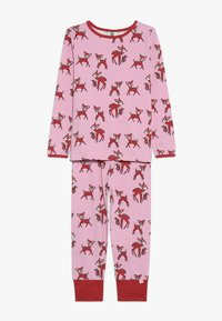 Småfolk - NIGHTWEAR DEER - Pyžamová sada - sea pink - 0