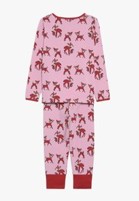 Småfolk - NIGHTWEAR DEER - Pyžamová sada - sea pink - 1