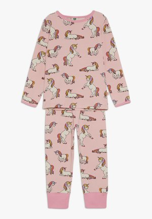 NIGHTWEAR WITH UNICORN - Pyjama set - coral blush