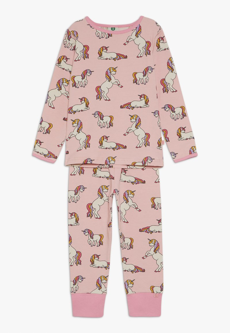 Småfolk - NIGHTWEAR WITH UNICORN - Pyjama set - coral blush