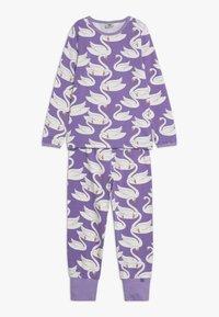 Småfolk - NIGHTWEAR SWAN - Pijama - purple - 0