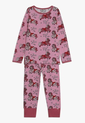 NIGHTWEAR HORSE - Pyjama set - sea pink