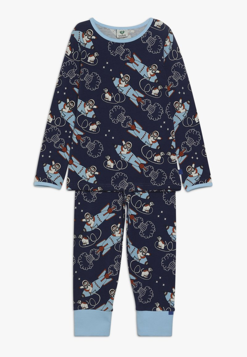 Småfolk - NIGHTWEAR ROCKET - Nachtwäsche Set - medieval blue
