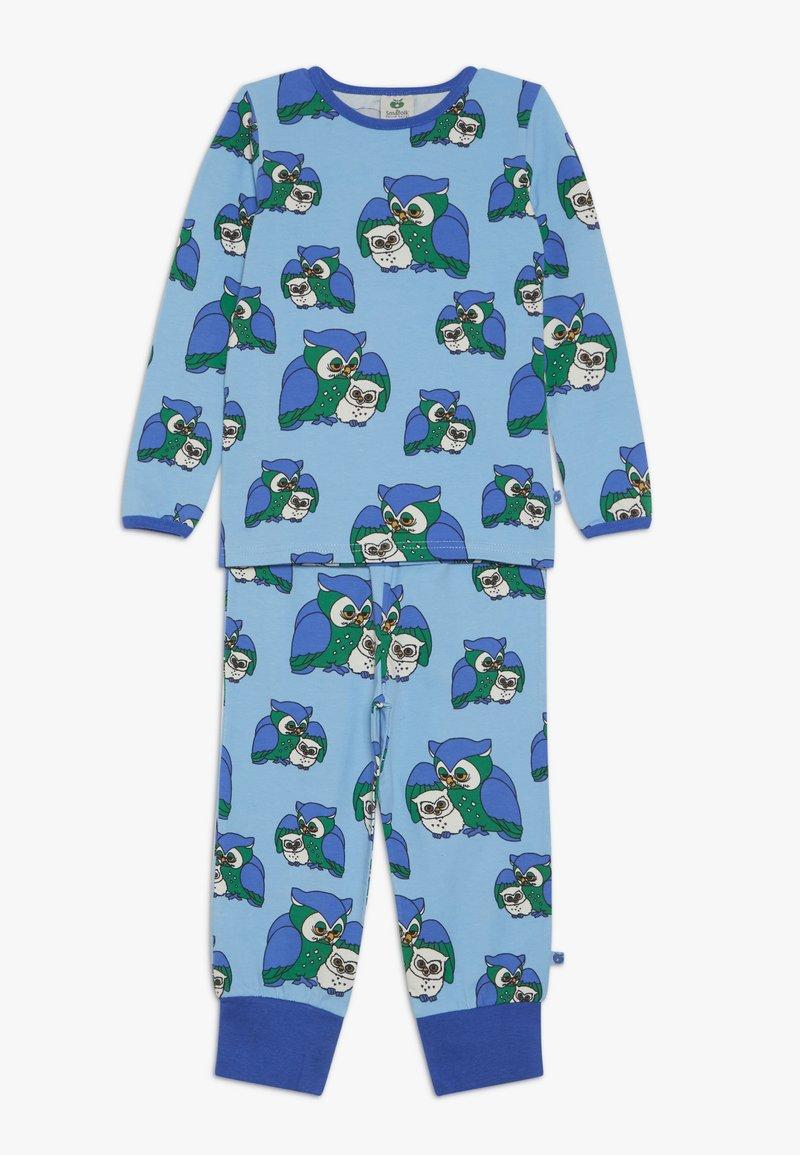 Småfolk - NIGHTWEAR WITH OWL - Pyjama set - air blue