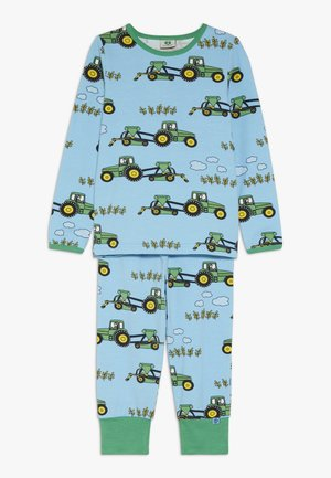 NIGHTWEAR TRACTOR - Nachtwäsche Set - blue grotto
