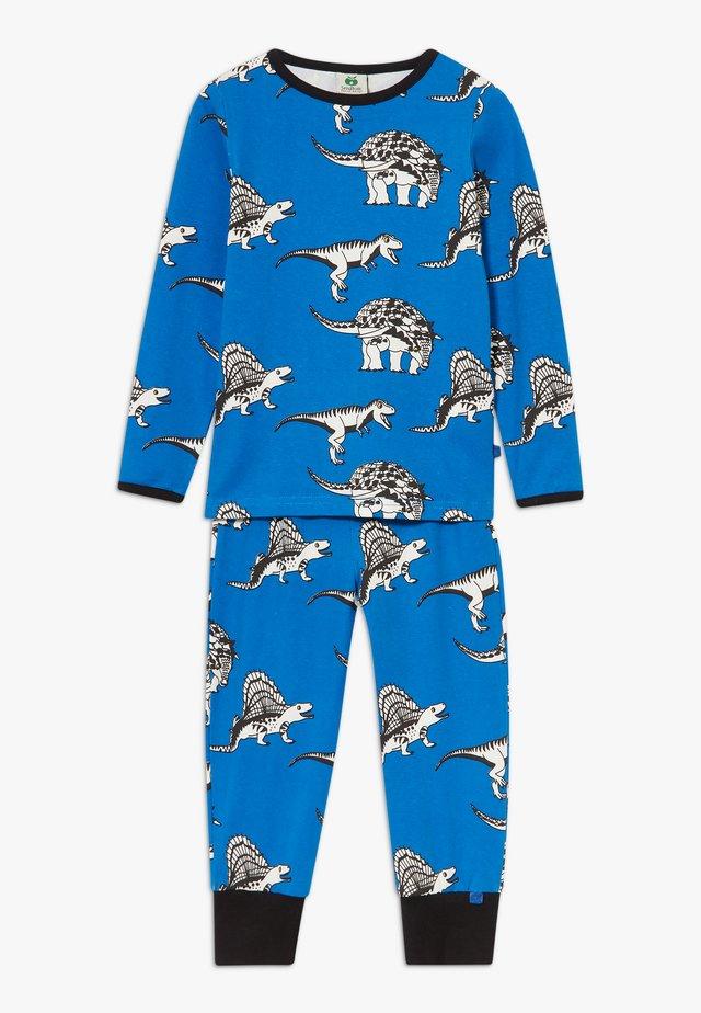NIGHTWEAR DINO SET - Pyžamová sada - blue lolite