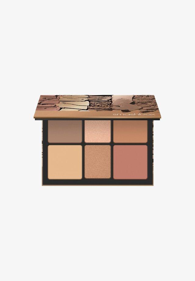CALI CONTOUR PALETTE 20,56G - Face palette - shape-bronze glow