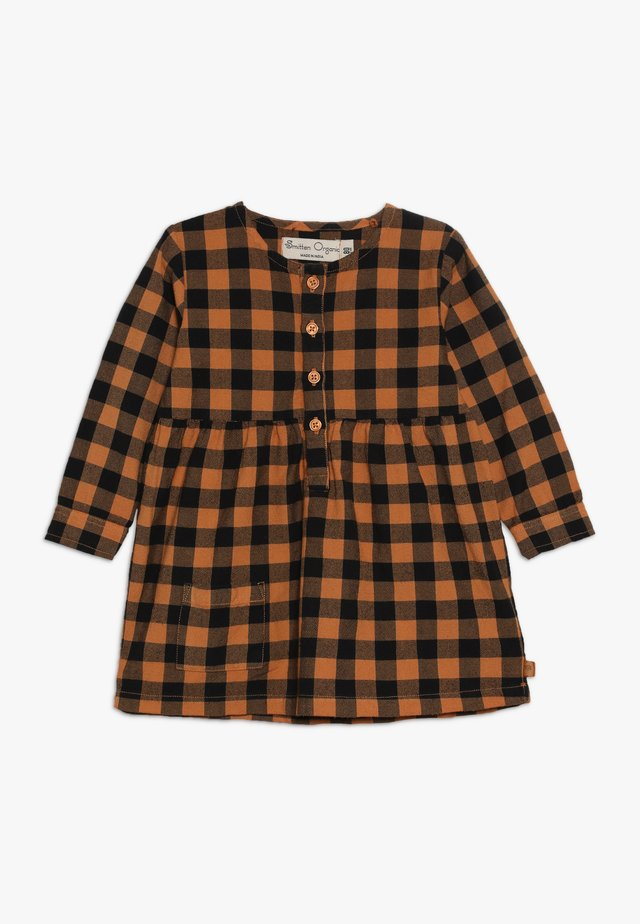 DRESS BABY - Shirt dress - brown