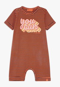 Smitten Organic - SHORTALL BABY ZGREEN - Overal - living coral - 0