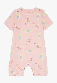 Smitten Organic - SHORTALL BABY ZGREEN - Overal - powder pink - 0