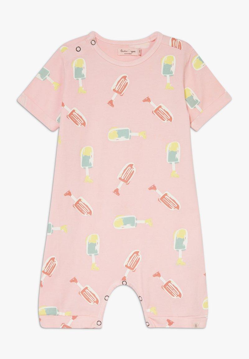 Smitten Organic - SHORTALL BABY ZGREEN - Overal - powder pink