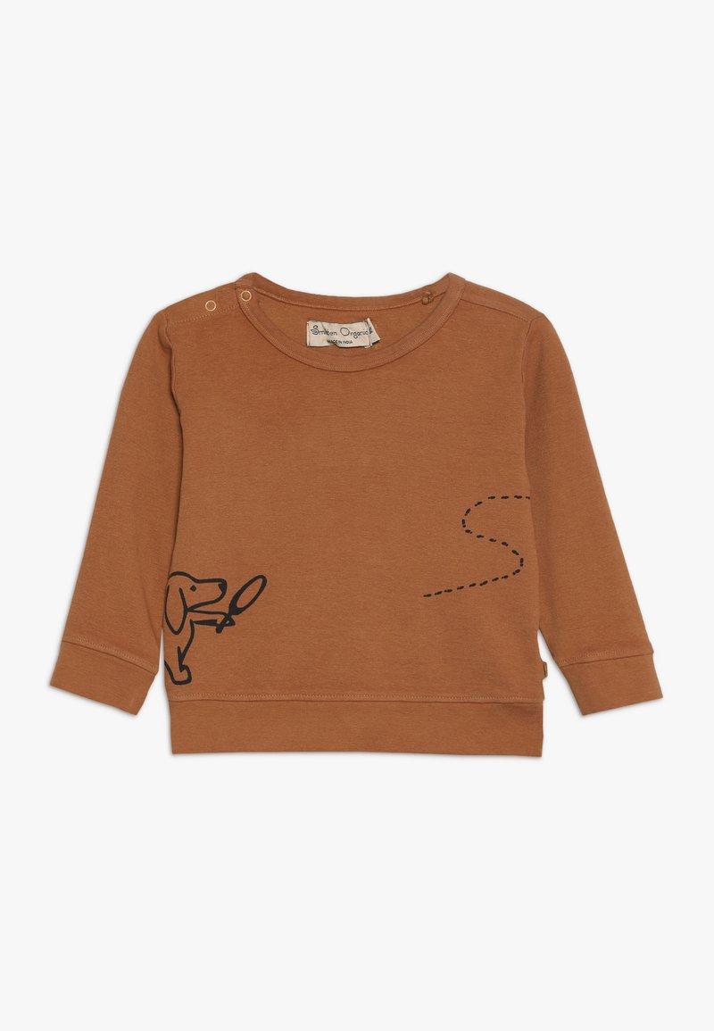 Smitten Organic - BABY - Long sleeved top - sudan brown