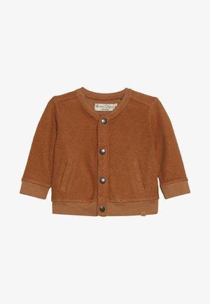 CARDIGAN BABY - Mikina na zip - sudan brown
