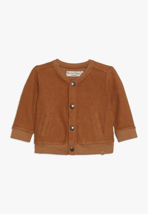 CARDIGAN BABY - Mikina na zip - sudan brown