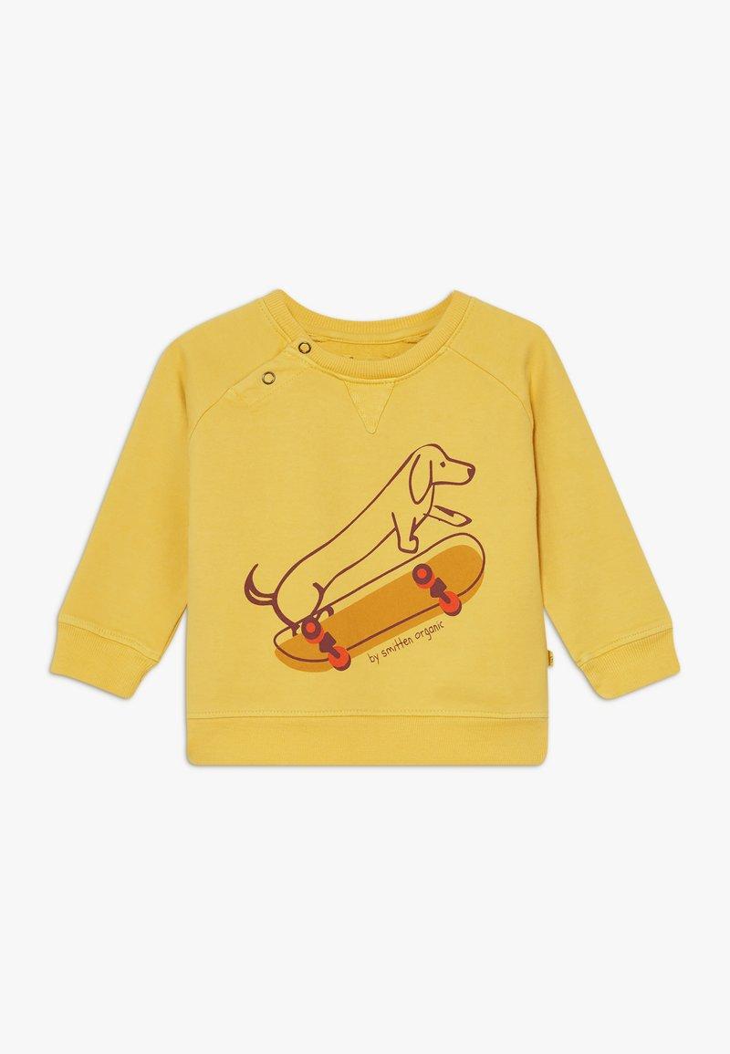 Smitten Organic - BABY ZGREEN - Sweatshirts - bamboo yellow