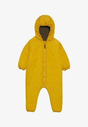 SNOW SUIT BABY  - Snowsuit - yellow/khaki