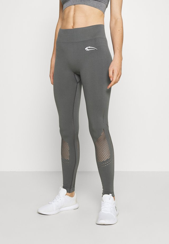 SEAMLESS LEGGINGS CONFIDENCE - Trikoot - anthrazit
