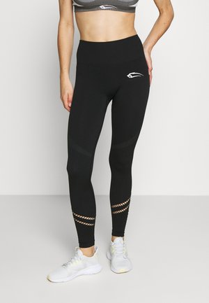 SEAMLESS LEGGINGS FREEDOM - Legginsy - schwarz