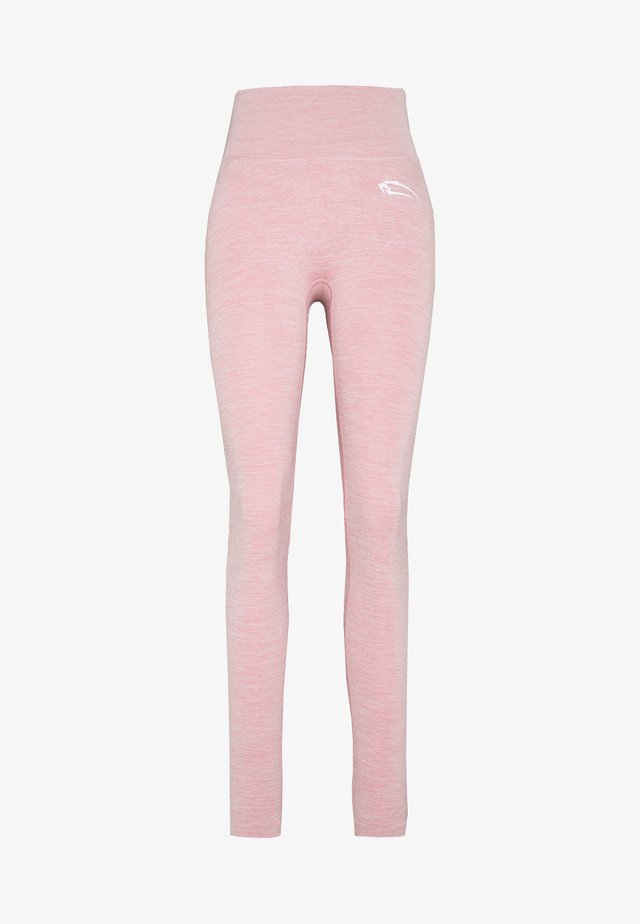 DAMENLEGGINGS GLOW - Trikoot - rosa