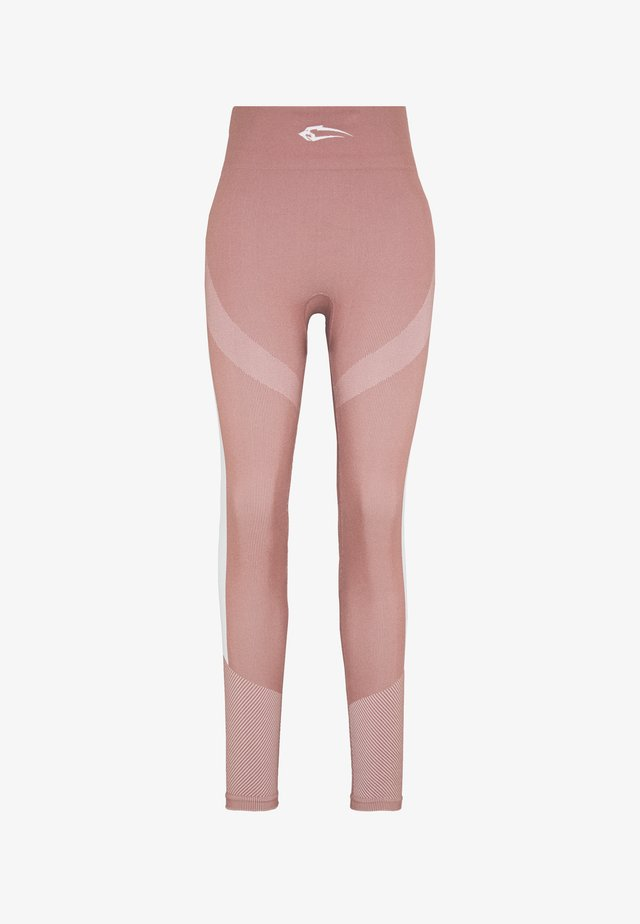 SEAMLESS LEGGINGS ULTIMATE - Leggings - altrosa